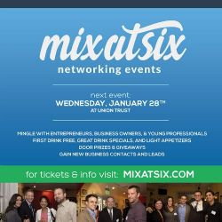 Details on Mix at Six - Business Networking Event at Union Trust